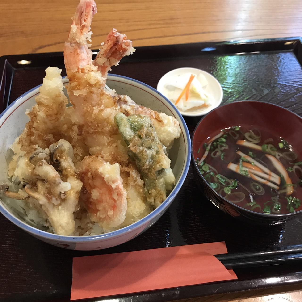 和み蕎 たつの天丼が進化しました!