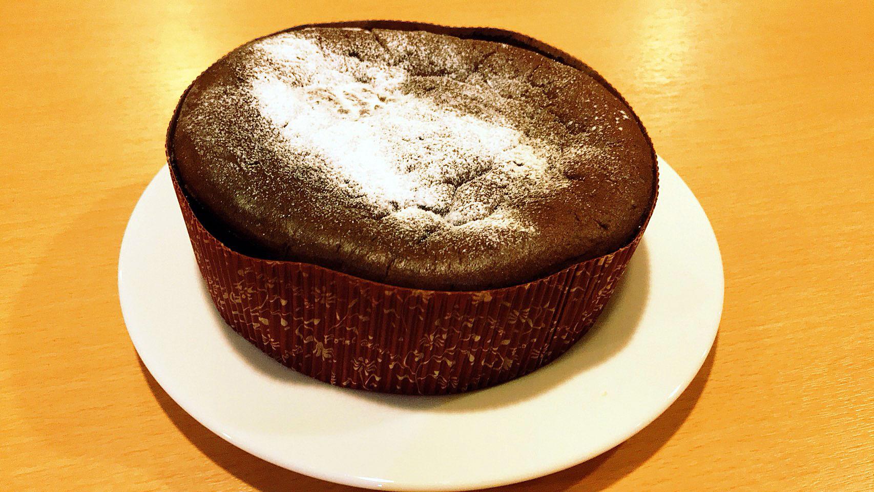 和み蕎たつ~米粉のガトーショコラが登場