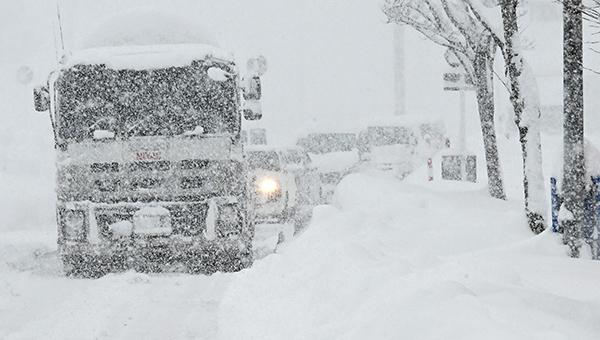 大雪による臨時休業のお知らせ